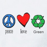 Peace-Love-Green-T-Shirt