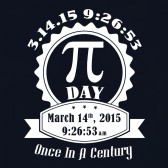 Pi-Day-Once-in-a-Century-March-14-2015-Women-T-Shirt