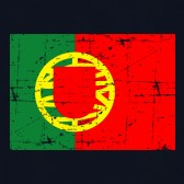 Portugal-Flag-Retro-Style-Youth-Kids-T-Shirt