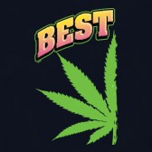 Pot-Smokers-Marijuana-Leaf-Couple-Top-Best-Buds-Women-T-Shirt