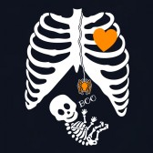 Pregnant-Skeleton-Halloween-costume-Women-T-Shirt