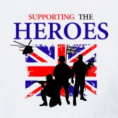 PROUD-TO-SUPPORT-SUPPORTING-THE-ARMY-HEROES-T-Shirt