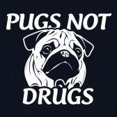 pugs-not-drugs-T-Shirt