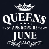 QUEENS-Are-Born-In-June-Birthday-Gift-Women-T-Shirt