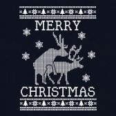 Reindeer-Humping-ugly-christmas-sweater-T-Shirt