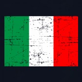 Retro-Italy-Flag-Youth-Kids-T-Shirt