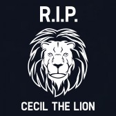 RIP-Cecil-The-Lion-In-Memory-of-CECIL-2002-2015-T-Shirt