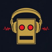 Robot-Head-T-Shirt