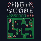 Santa-Video-Game-Ugly-Christmas-Sweater-Youth-Kids-T-Shirt