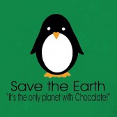 Save-the-Earth-Penguin-T-Shirt