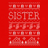 Sister-Ugly-Christmas-Sweater-Youth-Kids-T-Shirt