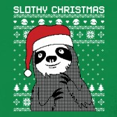 Slothy-Christmas-ToddlerInfant-Kids-T-Shirt
