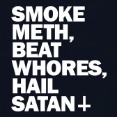 Smoke-Meth-Beat-Whores-Hail-Satan-Women-T-Shirt