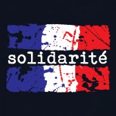 Solidarit-Distressed-France-Flag-T-Shirt