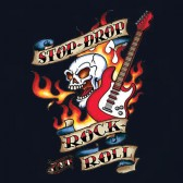 Stop-Drop-Women-T-Shirt
