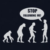 Stop-Following-Me-Evolution-T-Shirt