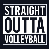 Straight-Outta-Volleyball-T-Shirt