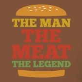 The-Man-The-Meat-The-Legend-T-Shirt