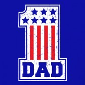 USA-Number-1-DAD-T-Shirt