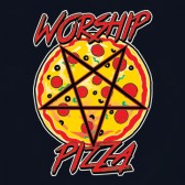 Worship-Pepperoni-Pizza-Pentagram-Slogan-Funny-Maternity-Tank-Top-Tunic